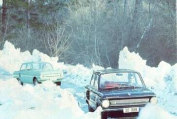 Водители СССР поделились опытом езды в гололед без шипов