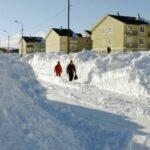 В Калужской области девочку насмерть засыпало снегом