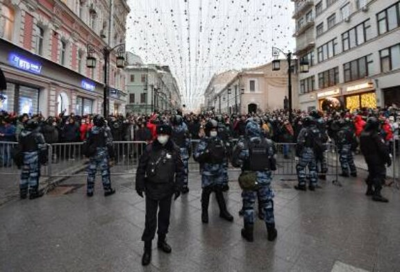 В Москве отпустили девять детей, задержанных на несогласованной акции
