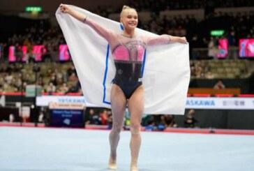 Российская гимнастка Ангелина Мельникова выиграла золото в личном многоборье