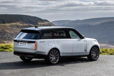 Range Rover следующего поколения: новые изображения