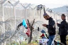 Литовский креатив: Мигрант «колючку» для себя смастерит сам