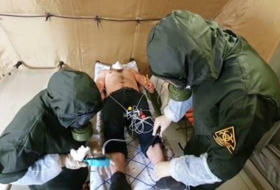 Военные врачи помогают в борьбе с коронавирусом в 43 регионах России