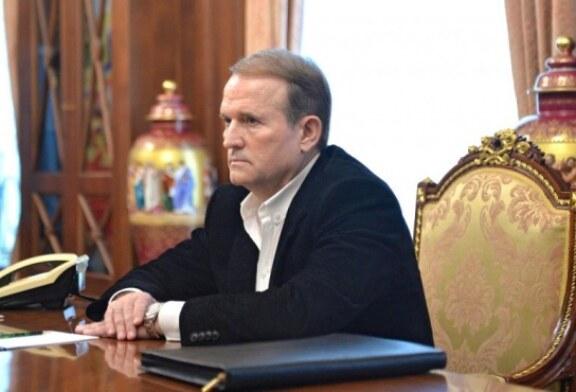 Супруга Виктора Медведчука Оксана Марченко собирается вступить в его партию