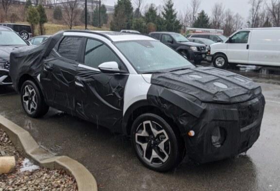 Пикап Hyundai почти готов к премьере: модель снова угодила в объектив