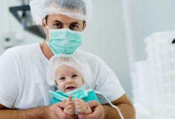 Дети могут носить маски начиная с четырех месяцев — исследование
