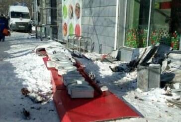 В Нижнем Новгороде на пожилую женщину обрушилась вывеска магазина