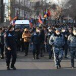 Противники Пашиняна завершили шествие по Еревану