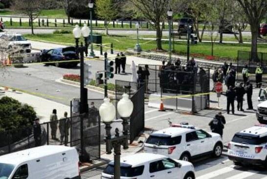 Водитель автомобиля, протаранившего КПП у Капитолия, умер