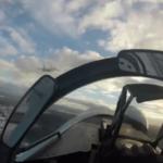 Су-35 ВВС Китая отогнали японские и американские войска от островов Сенкаку