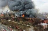 К тушению пожара на «Невской мануфактуре» подключилось Минобороны