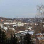 В Смоленске на крепостной стене обрушились леса