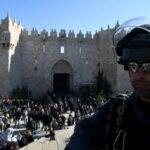 Число пострадавших при беспорядках в Иерусалиме возросло до 163 человек