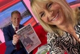 Телеведущая из Великобритании Луиза Минчин ушла с утреннего шоу после 20 лет работы