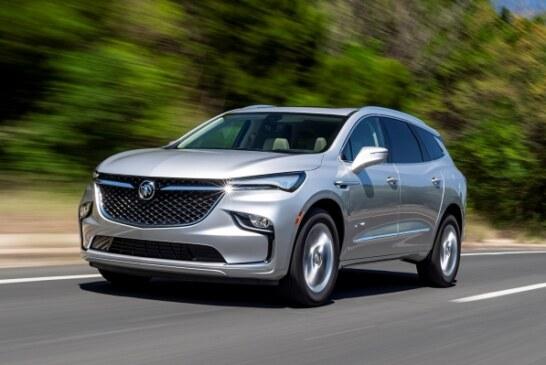Обновлённый американский Buick Enclave: странный дизайн и более богатое оснащение
