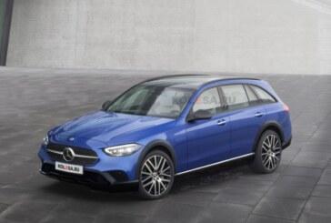 Новый кросс-универсал Mercedes-Benz C-Class All-Terrain: первые изображения